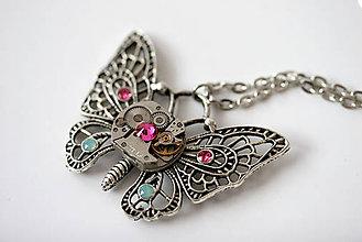 Náhrdelníky - Motýlik - 5262673_
