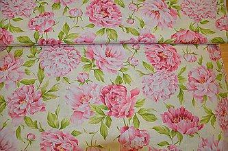 Úžitkový textil - Posteľné obliečky - Pivonkové - - 5264672_