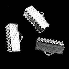 Komponenty - Koncovka 5xš12mm-strieb-1ks - 5283695_