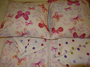Úžitkový textil - postelné prádielka pre 2 princezničky na želanie:) - 5284223_
