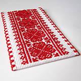Drobnosti - Na ľudovú nôtu - záložka červená - 5284478_
