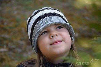 Detské čiapky - Prechodná šiltovka... \