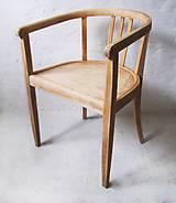 Nábytok - Dřevěné Křeslo - 5305634_