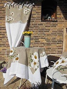 Úžitkový textil - Ľanový obrus Marguerite - 5305200_