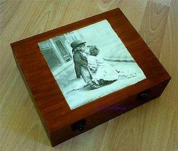 Krabičky - 12 priečinková krabica nielen na čaj - 5337617_