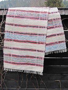 Úžitkový textil - koberec tkaný  65 x 240 cm tradičný - 5340009_