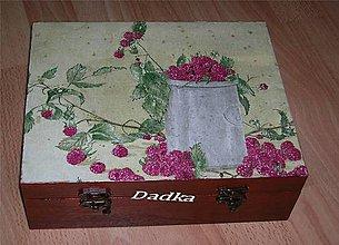 Krabičky - 12 priečinková krabica  na čaj - 5342074_