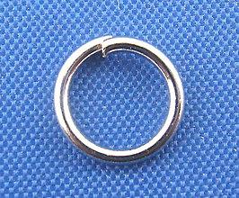 Komponenty - Krúžky 7mm (balíček 50ks) - 5346937_