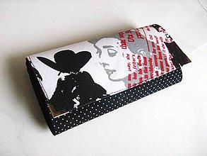 Peňaženky - Audrey Hepburn - 19 cm, na spoustu karet - 5350746_