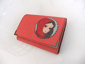 Peňaženky - Grétka - peněženka i na karty 13 cm - 5350950_