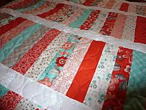 Úžitkový textil - Veselá deka. - 5347666_