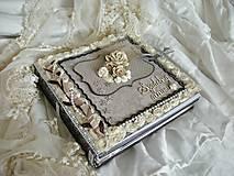 Papiernictvo - Svadobný fotoalbum na želanie pre Zuzku - 5362007_