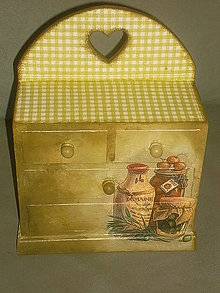 Krabičky - komôdka - 5362012_