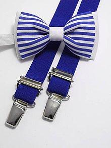 Detské doplnky - Detský set Blue Navy III - 5373760_