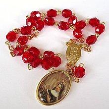 Iné šperky - Růženec Sv.Rity - 5378518_