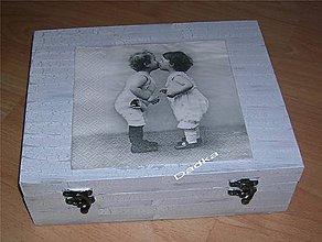 Krabičky - 12 priečinková krabica nielen na čaj - 5381916_