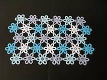 Úžitkový textil - Háčkovaný obrus II - 5385231_
