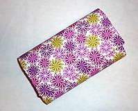 Peňaženky - Peňaženka - Farebné kvety - 5386388_