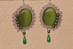 Náušnice - Romantické s perličkami - 5386725_