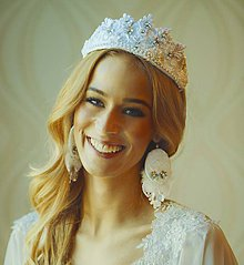 Ozdoby do vlasov - Čelenka-Korunka nr.2 - kolekcia Miss 2015 by Hogo Fogo - 5399047_