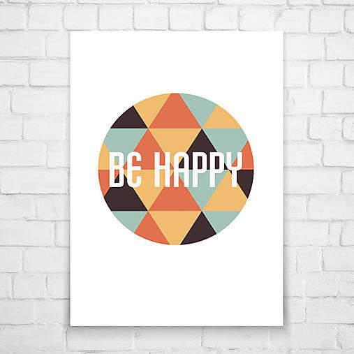Grafika - BE HAPPY - 5408627_