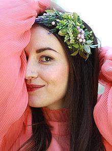 Ozdoby do vlasov - Zelená halúzka Nr.2 for Tami HERIBANOVÁ by Hogo Fogo - 5418375_