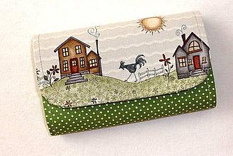Peňaženky - Peňaženka - Na vidieku 12. - 5417805_