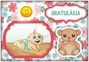 Papiernictvo - Blahoželanie k narodeniu dieťaťa 9 - 5426641_