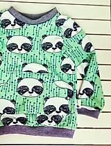 - Mikina Panda v zelenom - 5448141_