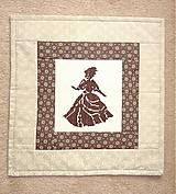 Úžitkový textil - Návliečka na vankúšik - Na bále. - 5446951_