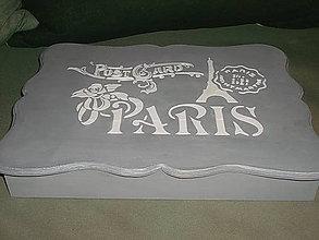 Krabičky - parížanka - 5472833_