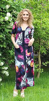 Šaty - Květované maxišaty - 5474466_