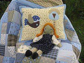 Úžitkový textil - modrá... krásna :-) - 5473877_