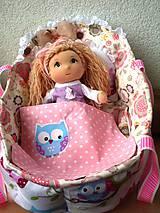 Hračky - Hociktorá bábika s postieľkou- mega zľava. - 5474460_