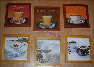 Obrázky - Kávičkové obrázky vyberte si motív - 5481332_