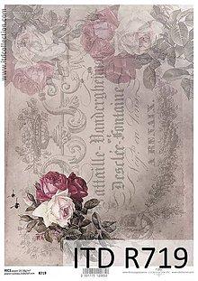 Papier - Ryžový papier R719 - 5490002_