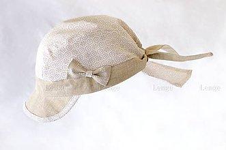 Detské čiapky - Dievčenská pirátka - 5491666_