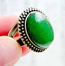 Prstene - Green Jade - 5518765_