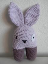 Hračky - Hrkálka - dvojnohá zajačica - skladom - 5522689_