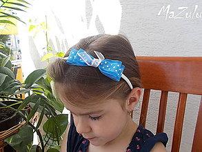 Ozdoby do vlasov - čelenočky pre bambuľky - 5541759_