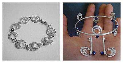Sady šperkov - Autorské zásahy - filigránový set - 5546034_