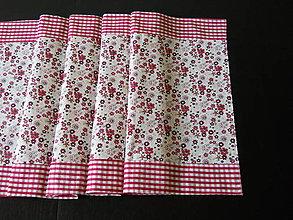 Úžitkový textil - Štóla bordová - 5549337_