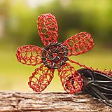 Náhrdelníky - Diabolský kvet - 5547798_
