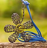 Náhrdelníky - Kvet v prírode zrodený - 5547862_