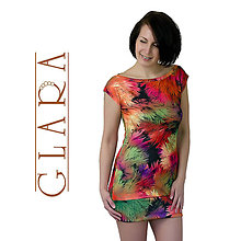 Šaty - Minidress / Feathers - 5553484_
