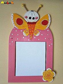 Zrkadlá - Zrkadlo - motýľ - 5560507_