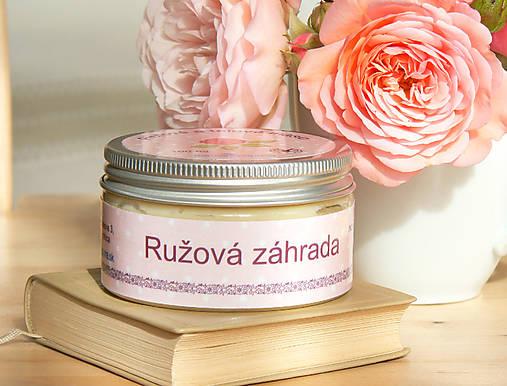 Ružová záhrada - telové maslo
