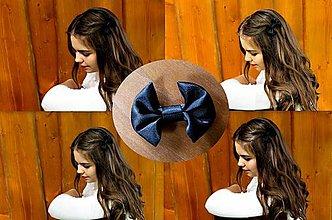 Ozdoby do vlasov - Šik minimalistka - Klasická čierna - 5572584_