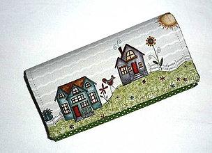 Peňaženky - Peňaženka - Na vidieku 13. - 5571634_