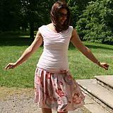 Sukne - Romantika s broží - 5580304_